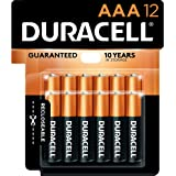 Duracell - CopperTop AAA Alkaline Batteries - long lasting, all-purpose Double A battery for household and business - 12…