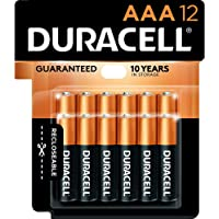 Duracell - CopperTop AAA Alkaline Batteries - long lasting, all-purpose Triple A battery for household and business - 12…