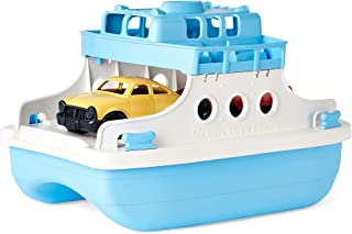 product image for Toy Ferryboat, Blue/White, Children's Toys, Made in the USA