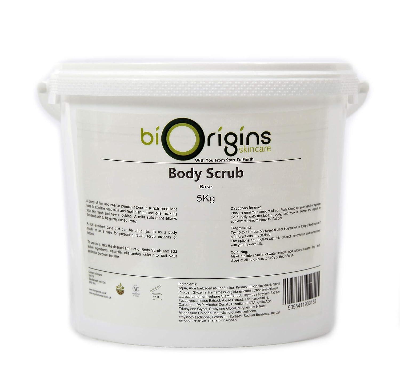 Körperpeeling - Geruchlos - Botanische Hautpflege Basis - 5kg