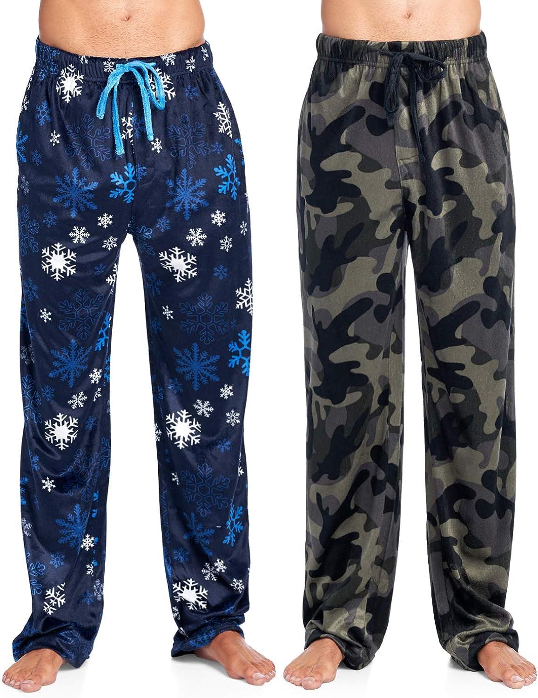 Ashford & Brooks Men's Mink Fleece Sleep Lounge Pajama Pants