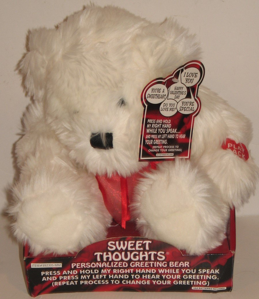 Amazon Sweet Thoughts Persoalized Greeting Bear Toys Games
