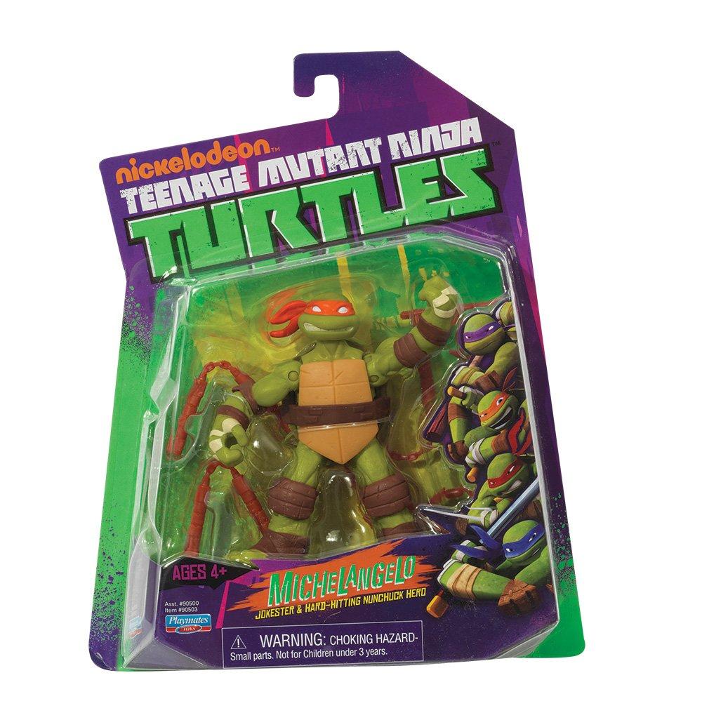 Giochi Preziossi 90500 - Tortugas Ninja figura, 14 cm, 9 ...