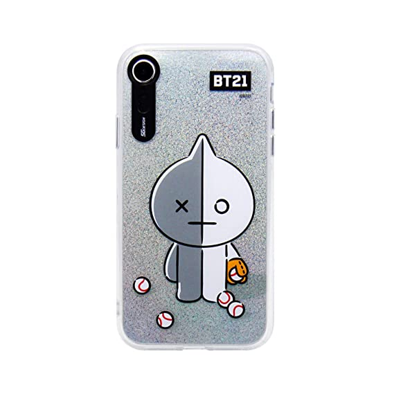 pretty nice af7ff 65631 iPhone XR Case, BTS BT21 Official Light Up Phone Case-Hang Out (Van)