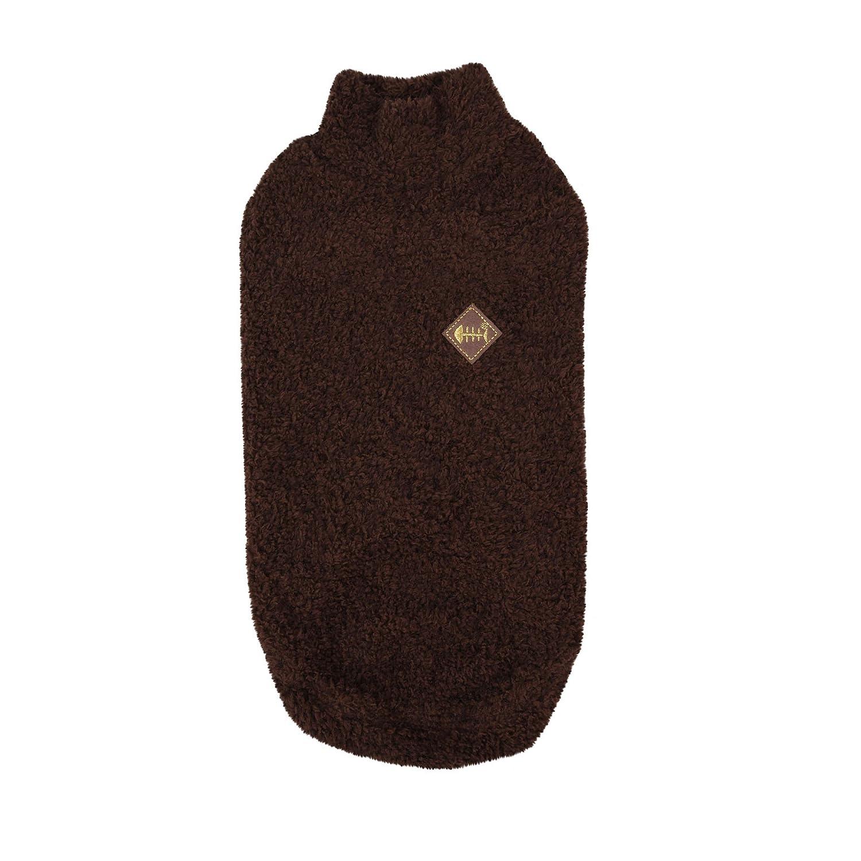 CATSPIA Garfield Sweater, Medium, Brown