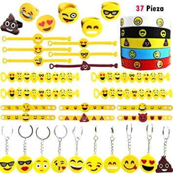 Clerfy Acc 37 PCS Emotion Cumpleaños - Emotion Pulsera ...