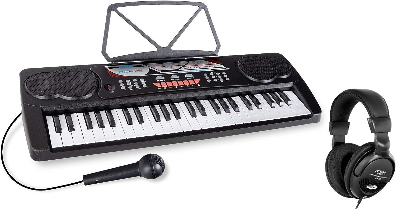 McGrey BK-4910BK teclado para prinicipiantes SET incl. auriculares Negro