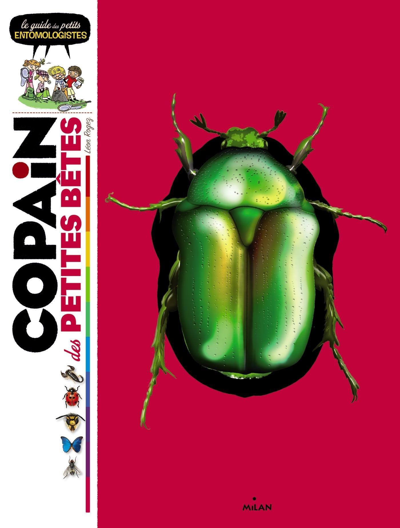 Copain des petites bêtes: le guide des petits entomologistes Album – 19 février 2014 Léon Rogez Isabelle Rogez Editions Milan 2745967703
