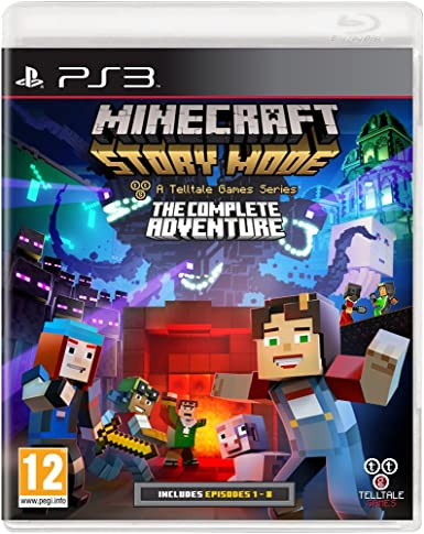 Minecraft Story Mode Complete Adventure [Importación Inglesa ...