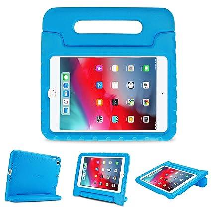 ProCase Funda Infantil iPad Mini 5 / Mini 4, Carcasa Niño Antigolpes con Asa Convertible Tapa de Soporte, Funda Bebé Ligera para iPad Mini 2019 5.ª ...