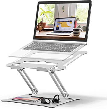 Notebook Foldable Holder Phone Stand Tablet Stand Dell Multi Function Laptop Stand HP Lenovo Ergonomic Adjustable Ventilated for MacBook