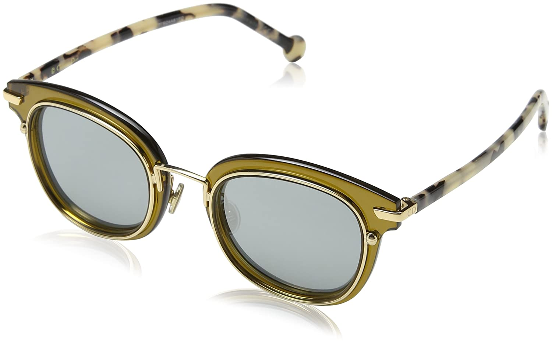 93f4b4d9d95 Amazon.com  Dior Origins 2 Transparent Green Gold White Havana Dark  48 23 145 Women Sunglasses  Clothing