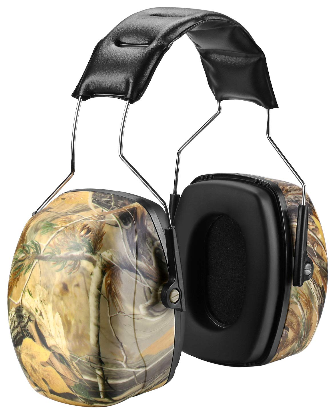 ZOHAN 011 Noise Reduction Ear Protection, High NRR Safety Earmuffs With Camo Pattern (Camo)