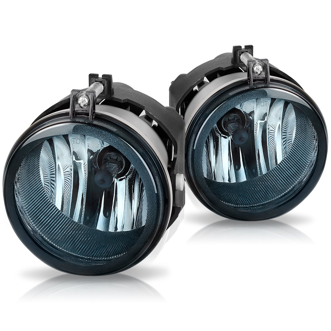 Fog Lights For Dodge Caravan Charger Challenger Caliber Mopar Jeep Off Road Driving Wiring Kit Compass Patriot Chrysler Pacifica Sebring Oe Style Smoke Lens W Bulbs Automotive