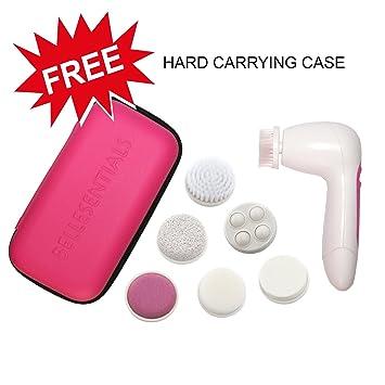 Amazon.com: Cepillo exfoliante facial, el mejor para los poros, limpiador de espinillas, masajeador de la cara, Microdermabrasion, removedor de piel seca ...