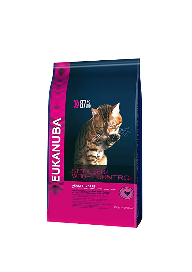 EUKANUBA Gato Light Sobrepeso/Esterilizados - 10 kg: Amazon.es: Productos para mascotas