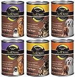 AvoDerm Natural Revolving Menu Canned Dog Food Recipe 3 Flavor Variety Bundle: (2) Lamb Recipe, (2) Beef Recipe, (2) Turkey Recipe, 12.5 Oz Each (6 Cans Total)