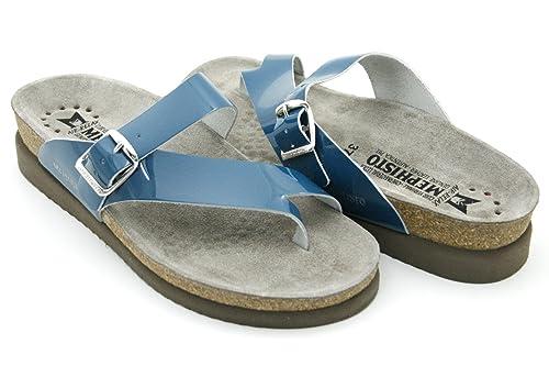 Mephisto Helen - Petroleum Vernis Patent Blue (Leather) Womens Sandals 39 EU