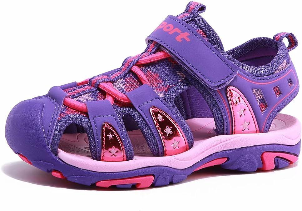 Baby Kids Boys Summer Beach Sandals Casual Closed Toe Outdoor Sport Mesh Sandals