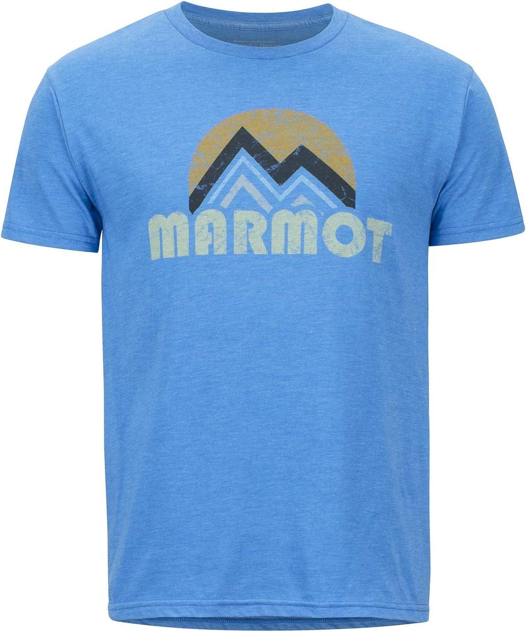 Respirant Homme s/échage Rapide id/éal pour Le Sport Chemise de randonn/ée la Gym Marmot Pt Reyes Tee Short Sleeve T-Shirt Manche Courte