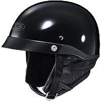 HJC CL-Ironroad - Casco medio para motocicleta, Negro, Large