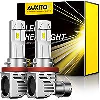 $28 » AUXITO H11 H8 H9 LED Headlight Bulbs 12000lm Per Set 6500K Cool White Wireless Headlight…
