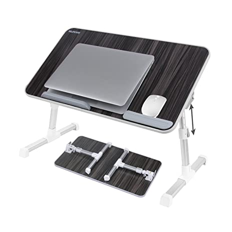 Laptop Bed Tray Table, Nearpow ( Larger Size ) Adjustable Laptop Bed Stand,  Portable