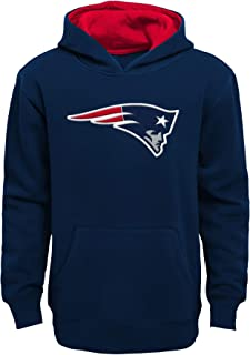 New England Patriots Youth Prime Basic Pullover Fleece Hoodie
