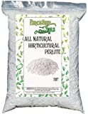 Horticultural Perlite 2 Quart Bag - All Natural Soil Additive for Indoor & Outdoor Plants, Improves Drainage, Aeration…