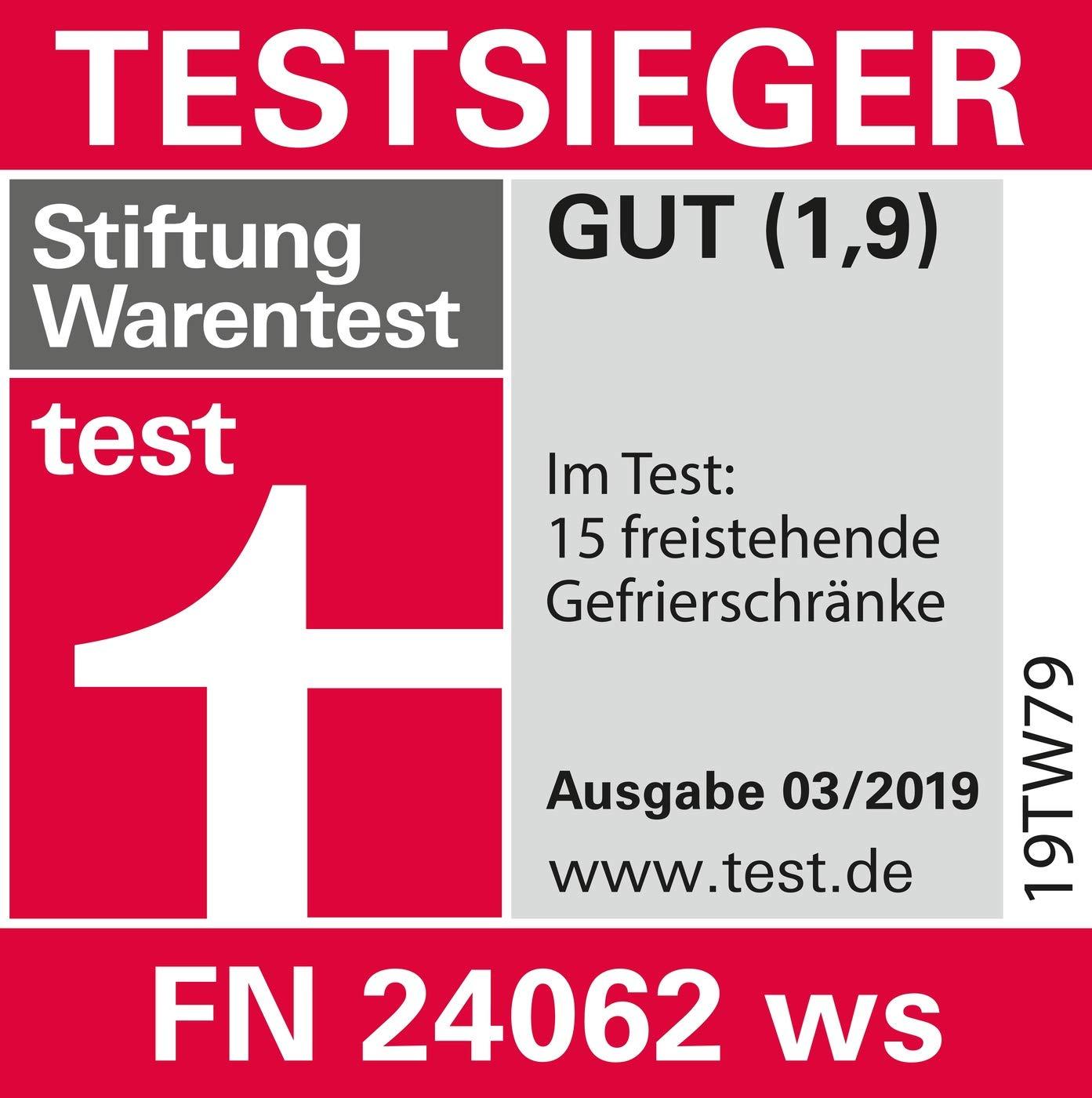 Miele FN24062 Gefrierschrank A 206 KWh Jahr 151 Cm 185 L Gefrierteil Weiss Amazonde Elektro Grossgerate