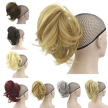 Amazon.com : Deniya Short Hair Pieces and