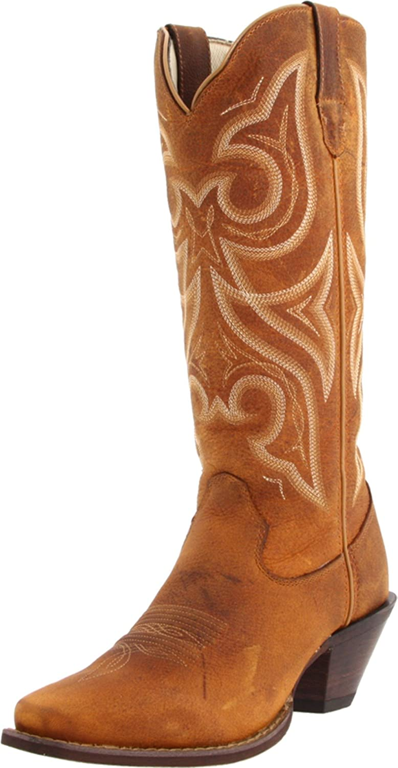 Durango Women's Crush 13-Inch Narrow Boot B0058DQXS2 6.5 B(M) US|Distressed Cognac