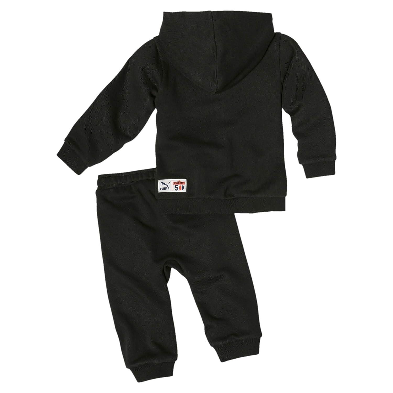 PUMA Sesamstra/ße Baby Jungen Trainingsanzug Cotton Black 68