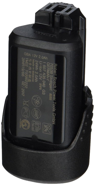 1600Z0002X GBA 2,0 Ah, 175 g Gewicht, kompatibel mit 12V Bosch Professional 12 V Akku