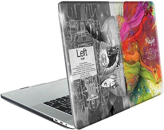 L2W Funda Dura para Apple MacBook Air 13,3 Pulgadas 2018 Modelo ...