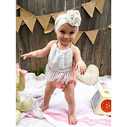 0bc82d8214592 Amazon.com: MOVEmen Jumpsuit Outfit Clothes Newborn Toddler Baby ...
