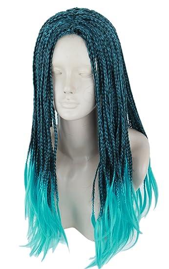 54c15ba00b3 Topcosplay Child Kids Wig Anime Cosplay Wig Halloween Costume Braids Wigs