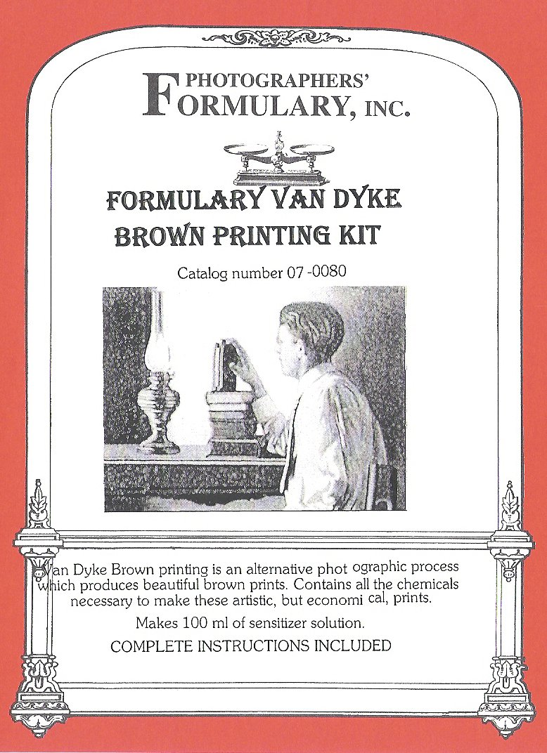 Photographers' Formulary 07-0080 Van Dyke Printing Kit
