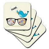 3dRose cst_104484_1 Geek Social Media Sunglasses