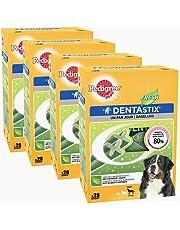 Pedigree Dentastix Fresh - Friandises pour Grand Chien, 112 Bâtonnets à Mâcher pour L'hygiène Bucco-Dentaire (16 Sachets de 7 Sticks)