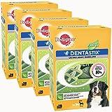 Pedigree Dentastix Fresh - Friandises pour grand chien - Pack de 4 x 28 stick (112) hygiène bucco-dentaire