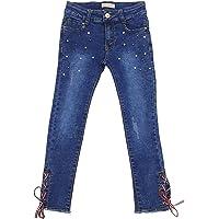 Girls Fashion Pantalones vaqueros elásticos M20e para niña Azul 98 cm-104 cm