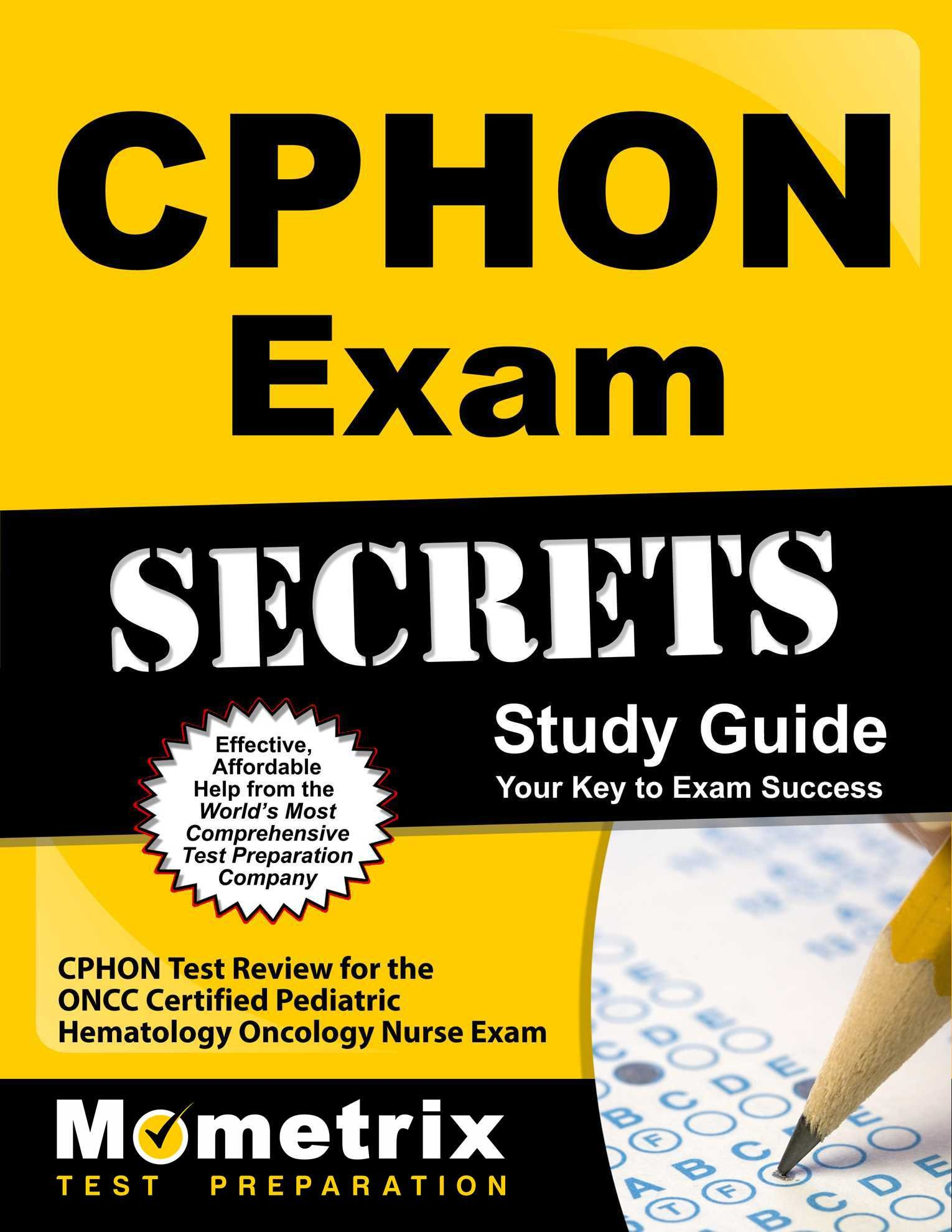 Buy Cphon Exam Secrets Cphon Test Review For The Oncc Certified