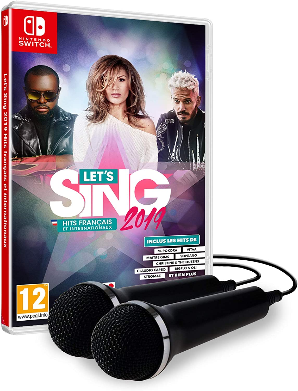 Lets Sing 2019: Hits Français et Internationaux - 2 Micros [Importación francesa]: Amazon.es: Videojuegos