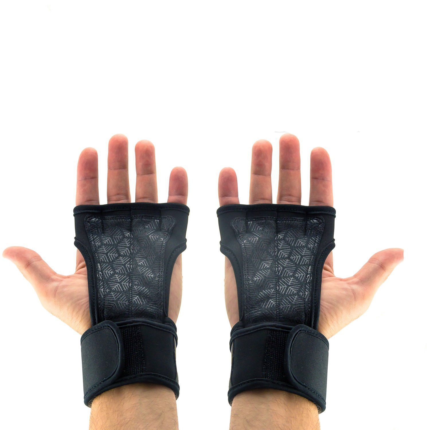 Workout Gloves with Wrist Support for Cross Training, WODs, Powerlifting, Weightlifting & Crossfit - Suitable for Men & Women - Protection from Painful Calluses, Rips & Tears
