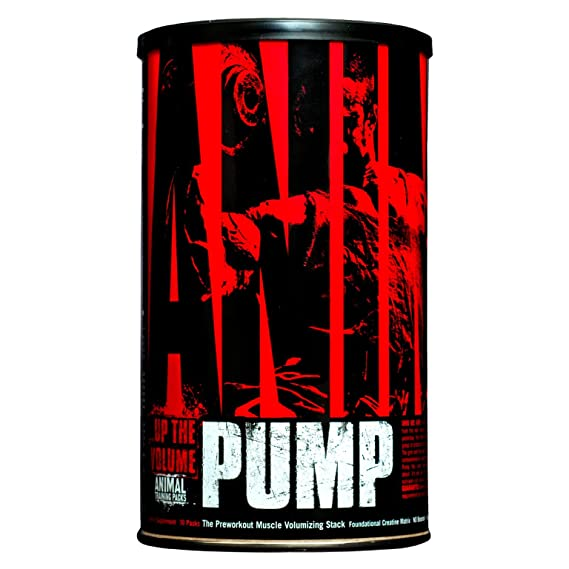 Universal Nutrition Animal Pump Standard - 30 Tabletas
