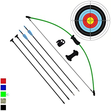 funtress archery bow and arrow set for kids children youth outdoor team  sports game hunting toy