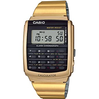 1711dbec40ab Amazon.com  RELOJ CASIO CA-506G-9AEF UNISEX DIGITAL  Watches