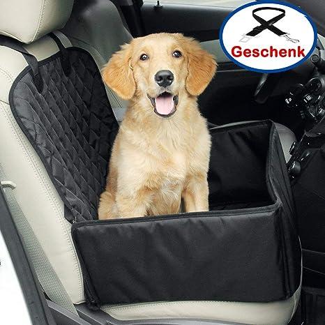 Yikaich Hunde Autositz Auto Hundesitz wasserdicht R/ückbank//Vordersitz Autoschondecke