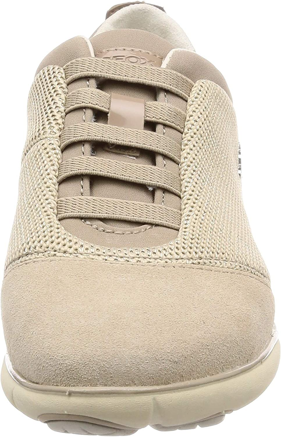 Geox Women's Low-Top Sneakers Beige Beige Cream C0423